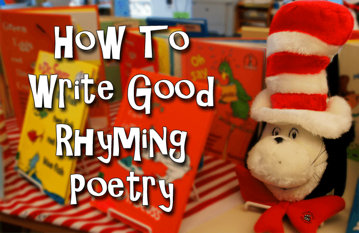 How To Write Good Rhyming Poetry - Writer's Relief, Inc.