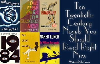 Ten Twentieth-Century Novels You Should Read Right Now - Writer's Relief, Inc.