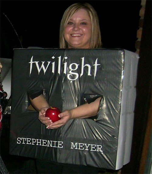 Twilight Book Cover Costume