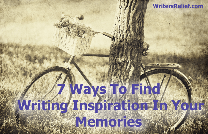 writing inspiration in your memories