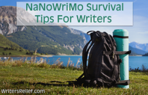 NaNoWriMo Survival Tips For Writers FI copy