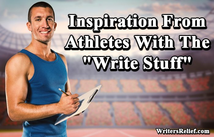 inspiration from athletes writer s relief inc