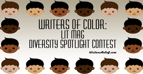 Writers Of Color: Lit Mag Diversity Spotlight Contest