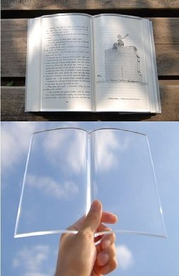 TransparentBookWeight