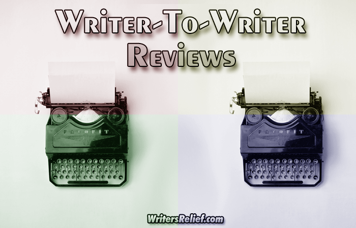 Writer-To-Writer Book Reviews