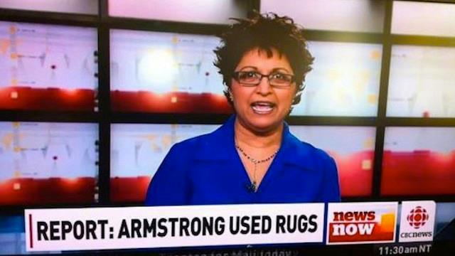 armstrong used rugs
