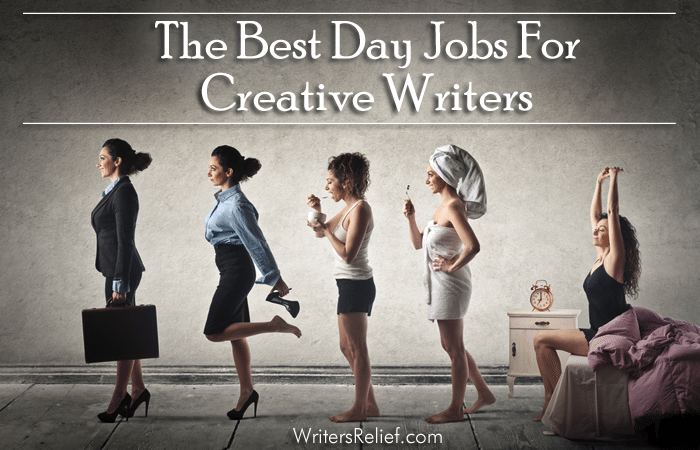 day jobs for creative writers