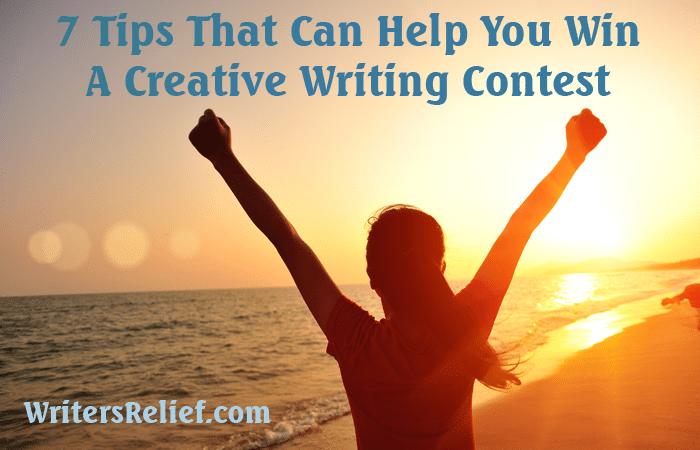 win a creative writing contest