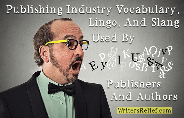 publishing industry vocabulary