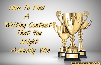 How To Find A Writing Contest That You Might Actually Win