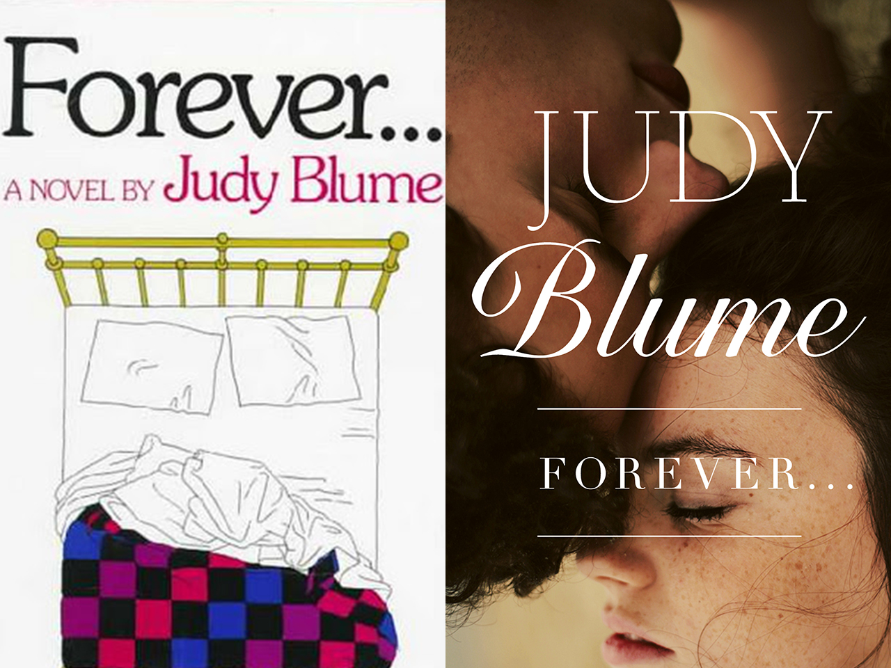 """Judy Blume's """"Forever,"""" with updated cover art"""