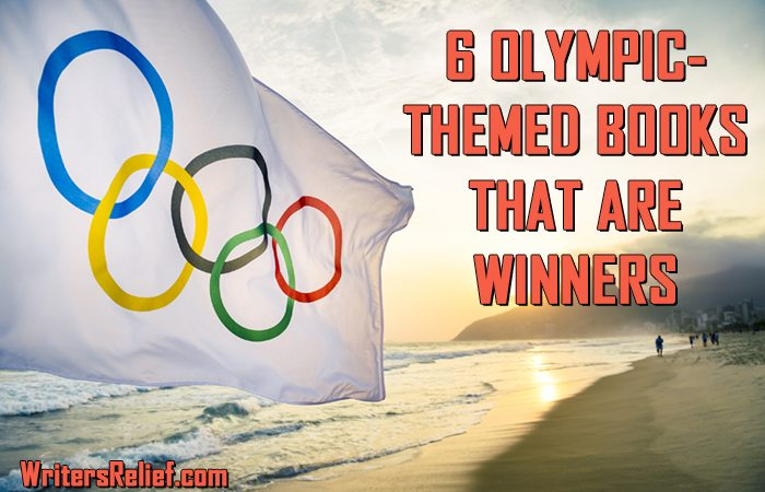 6 OLYMPIC THEMED BOOKS