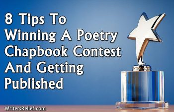 8 Tips To Winning A Poetry Chapbook Contest And Getting Published | Writer's Relief