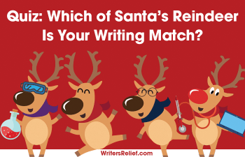 Quiz: Which of Santa's Reindeer Is Your Writing Match? | Writer's Relief