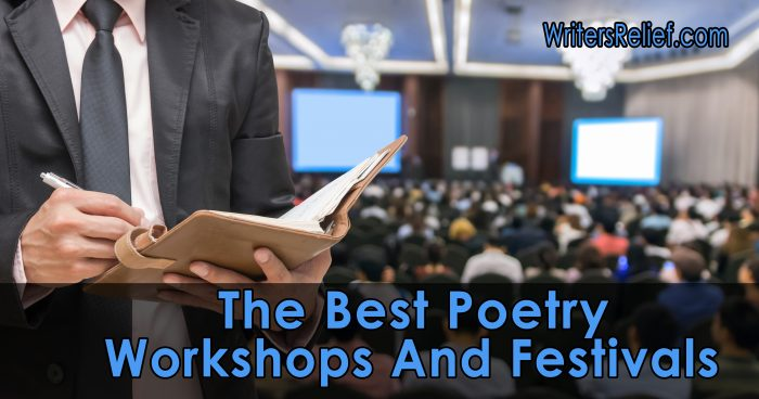 The Best Poetry Workshops and Festivals of 2018 | Writer's Relief