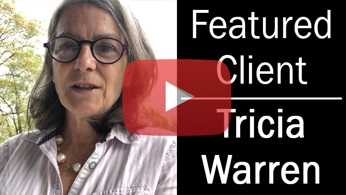 Featured Client: Tricia Warren | Writer's Relief