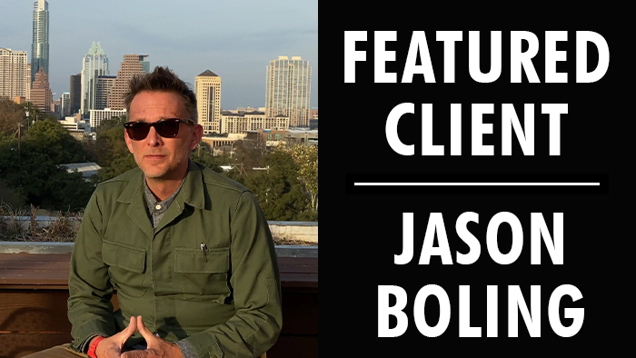 Featured Client: Jason Boling | Writer's Relief