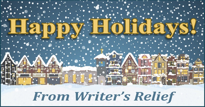 Happy Holidays From Writer's Relief