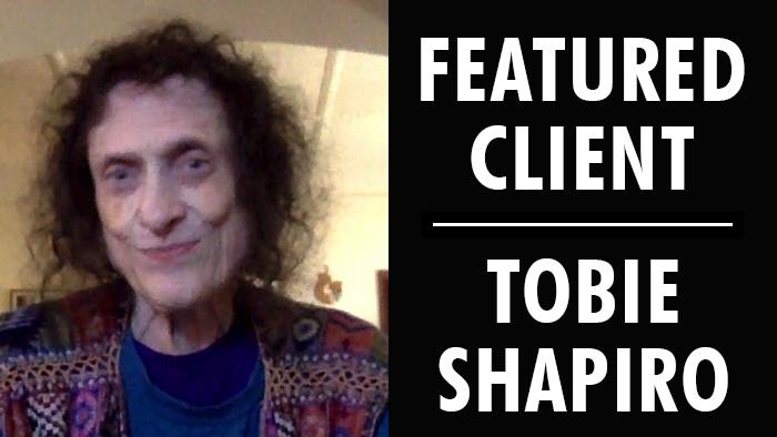 Featured Client: Tobie Shapiro | Writer's Relief