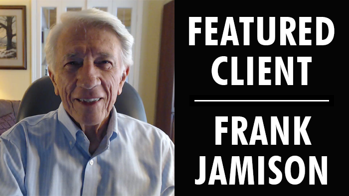 Featured Client: Frank Jamison | Writer's Relief