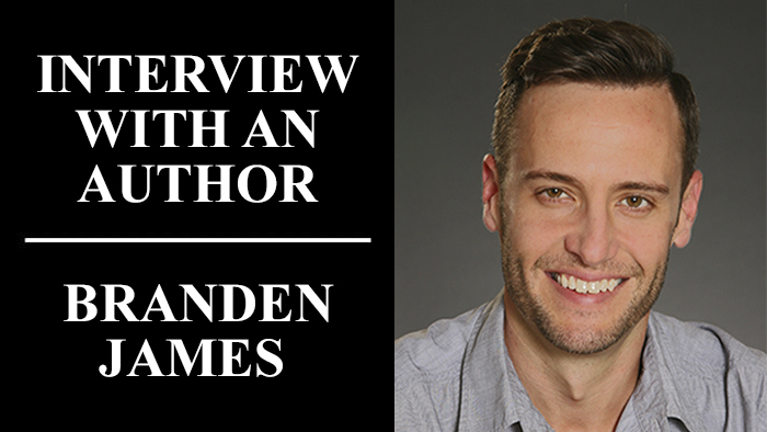 Interview With An Author: Branden James ∣ Writer's Relief
