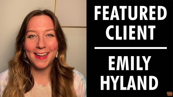 Featured Client: Emily Hyland | Writer's Relief