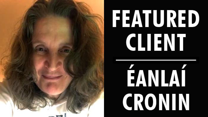 Featured Client: Éanlaí Cronin | Writer's Relief