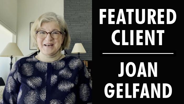 Featured Client: Joan Gelfand | Writer's Relief