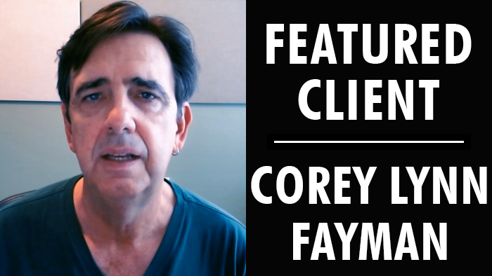 Featured Client: Corey Lynn Fayman | Writer's Relief